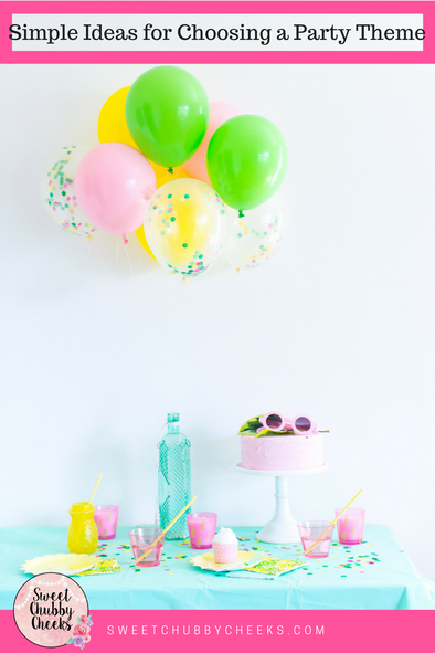 Simple Ideas for Choosing a Spectacular First Birthday Theme