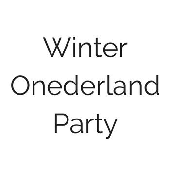 Winter Onederland Party