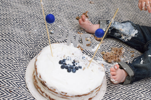smash cake recipe for first birthday photos by sweet chubby cheeks