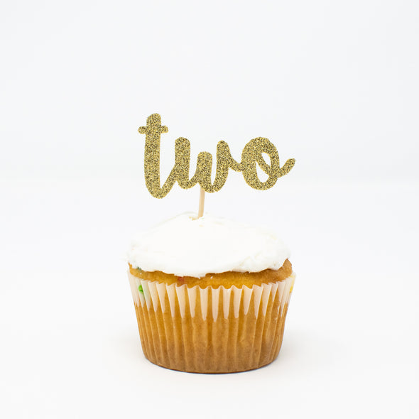 two cupcake toppers set of 12 sold by sweet chubby cheeks