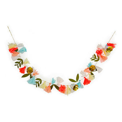 floral garland by meri meri sold by sweet chubby cheeks