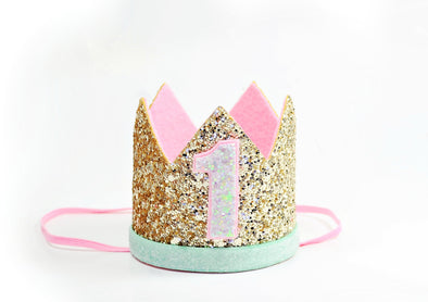 first birthday princess crown