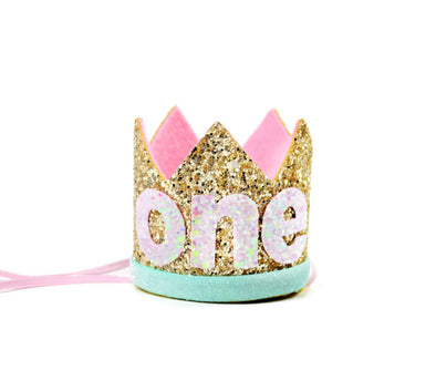 first birthday crown for girl sold by sweet chubby cheeks