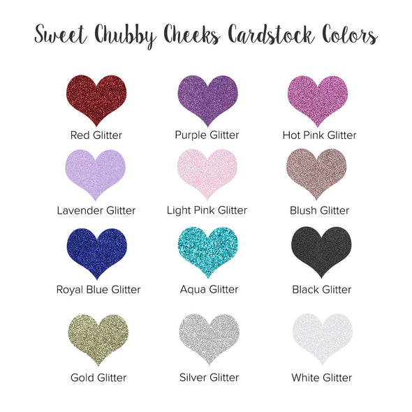 sweet chubby cheeks cardstock color chart
