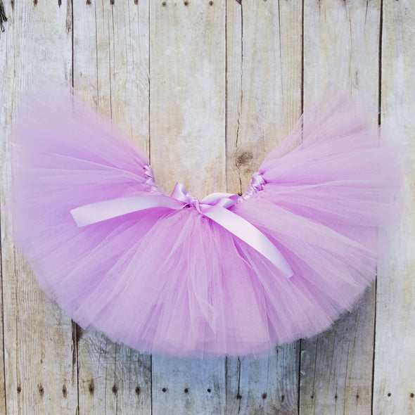 First Birthday Tutu Outfit in Lavender and Silver 1