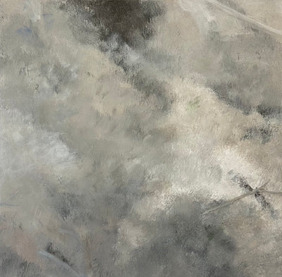 Juanita Bellavance, Some simple dirt, From the Chestatee River portfolio, 2021, Acrylic on canvas, 24 x 24 inches