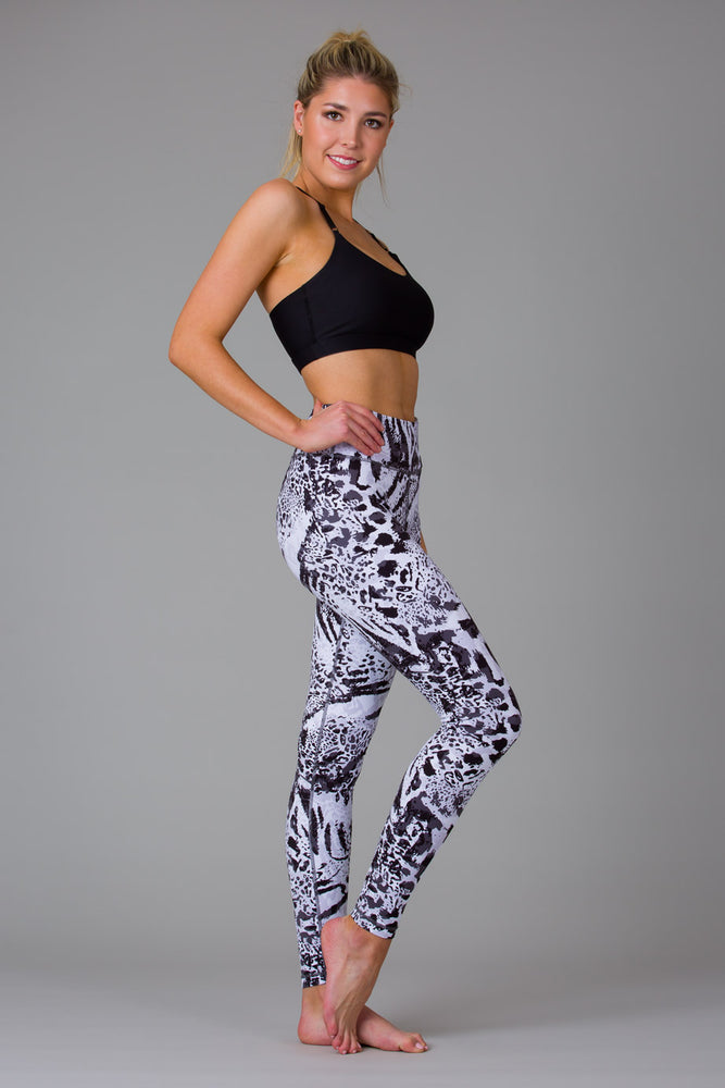 Snow Leopard Women's Full Length Leggings