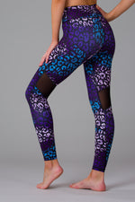 Leafy Leopard Women's Full Length Leggings
