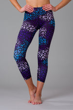 Leafy Leopard Women's 7/8 Leggings