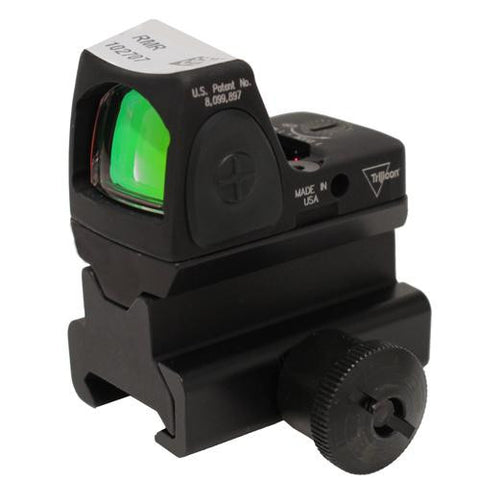 Trijicon - RMR Sight - Adjustable 6.5 Minutes Of Angle w-RM34 Picatinny Mount - RM07-34