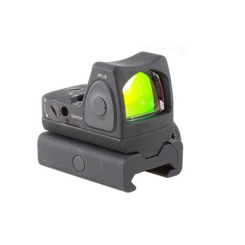 Trijicon - RMR Sight - Adjustable 6.5 Minutes Of Angle w-RM34W Weaver Mount - RM07-34W