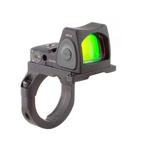 Trijicon - RMR Sight - Adjustable 6.5 Minutes Of Angle w-RM38 ACOG - RM07-38