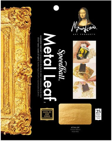 Composition Gold Leaf 25 sheet pack