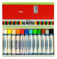 Holbein Academic Oil Pastel Set 12