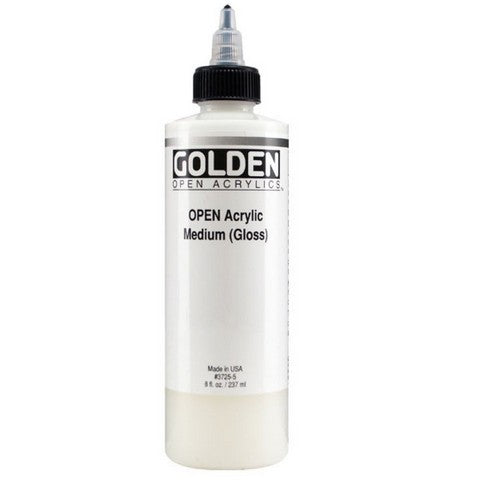 Acrylic - Golden Open Medium 8oz MED GLOSS