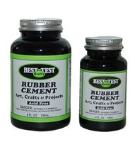 Rubber Cement by Best Test - Acid Free