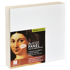 Canvas Textured Artist Panel by Ampersand