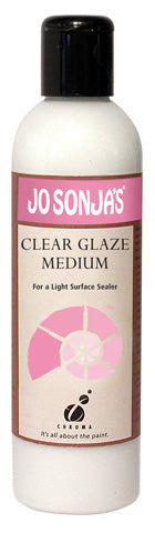 JO SONJA GLAZING MEDIUM 8OZ