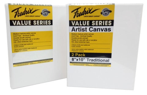 VALUE SERIES ART CANVAS 2PK 8X10