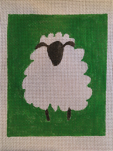 Sheep needlepoint canvas