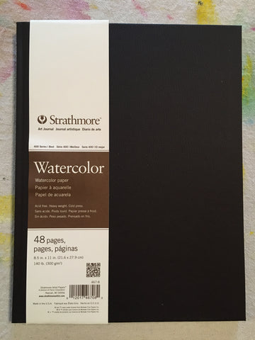 Strathmore Watercolor Sketchbook 48 pages 8.5x11""