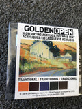 Acrylic -Golden Open Acrylic - Traditional Color 6 Piece Set