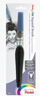 AQUASH LIGHT BLACK WATERBRUSH