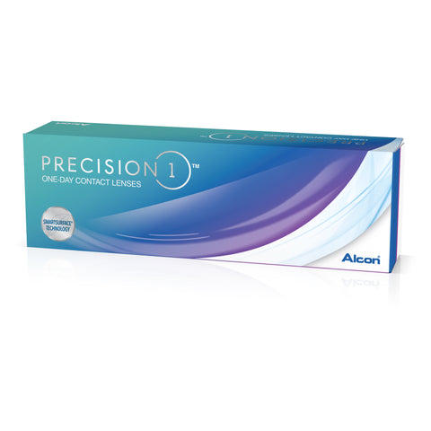 PRECISION 1 - 30 Pack Contact Lenses $42.99 Express Post