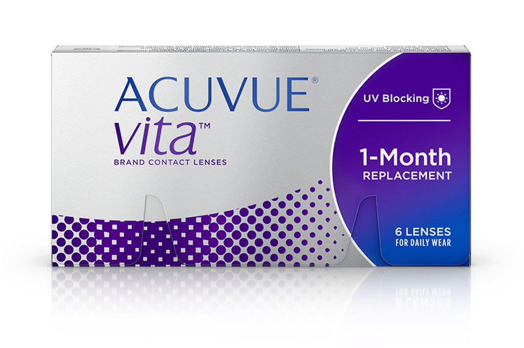 ACUVUE Vita - 6 Pack Contact Lenses $59.99 Express Post