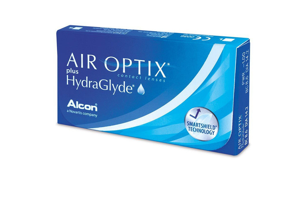 AIR OPTIX plus HydraGlyde - 3 Pack Contact Lenses $38.99 Express Post