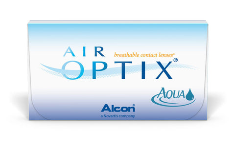 AIR OPTIX AQUA - 3 Pack Contact Lenses $34.99 Express Post