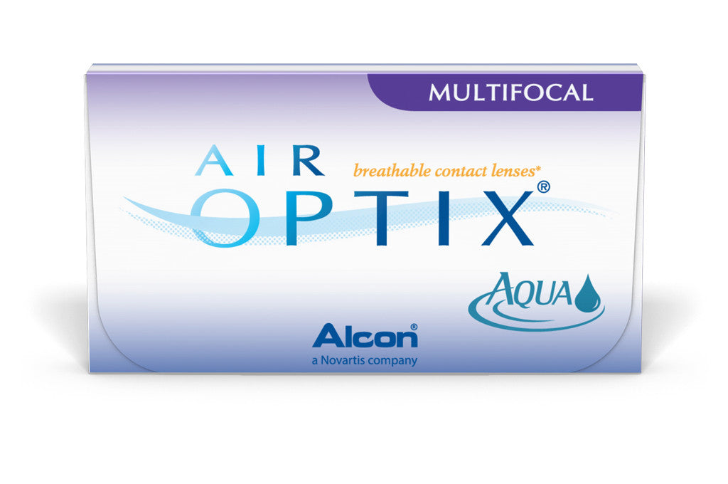 AIR OPTIX AQUA Multifocal - 3 Pack Contact Lenses $49.99 Express Post