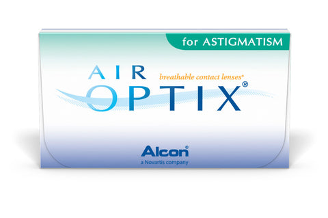 AIR OPTIX for ASTIGMATISM - 3 Pack Contact Lenses $47.99 Express Post