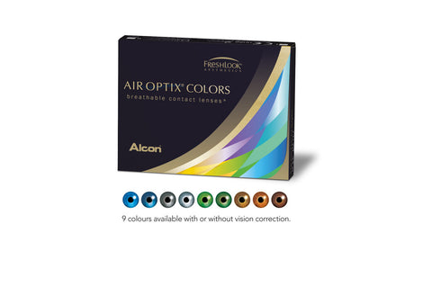 AIR OPTIX COLOURS SCRIPT - 6 Pack Contact Lenses $79.99 Express Post