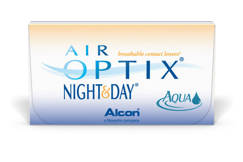AIR OPTIX NIGHT & DAY - 6 Pack Contact Lenses $82.99 Express Post