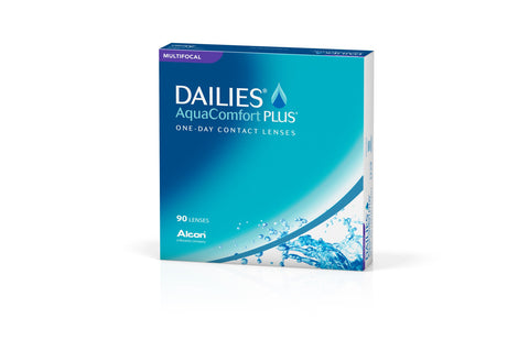DAILIES AquaComfort PLUS MULTIFOCAL - 90 Pack Contact Lenses $92.99 Express Post