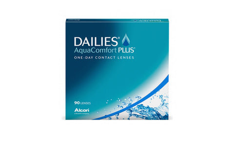 DAILIES AquaComfort PLUS - 90 Pack Contact Lenses $66.99 Express Post