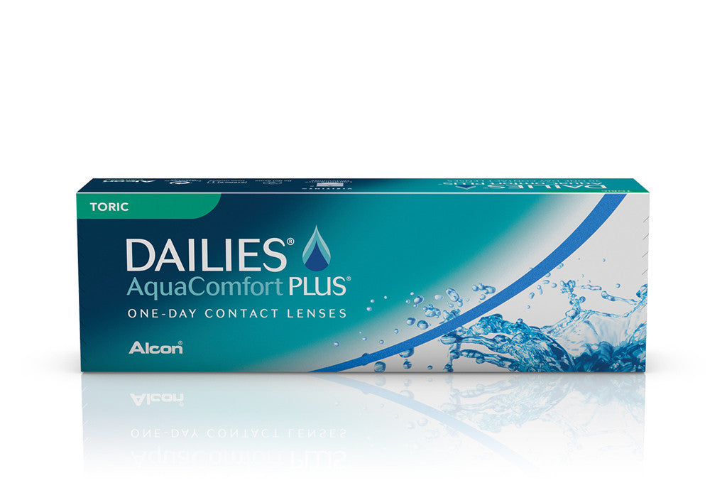 DAILIES AquaComfort PLUS TORIC- 30 Pack Contact Lenses $39.99 Express Post