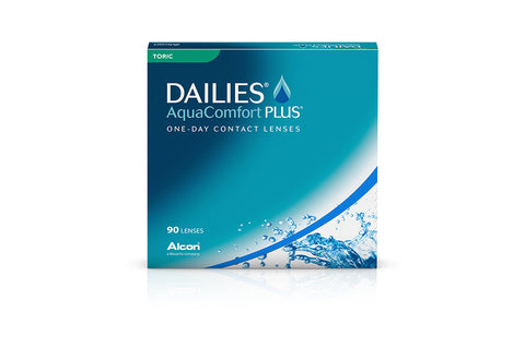 DAILIES AquaComfort PLUS TORIC - 90 Pack Contact Lenses $91.99 Express Post