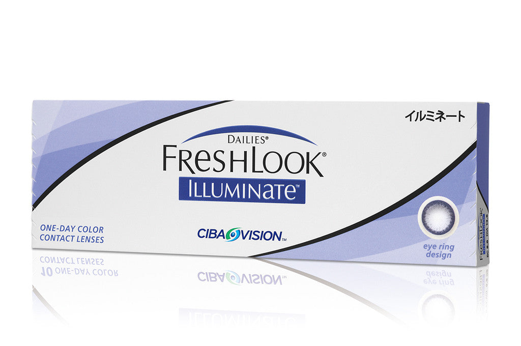 DAILIES FRESHLOOK ILLUMINATE - 30 Pack Contact Lenses $39.99 Express Post
