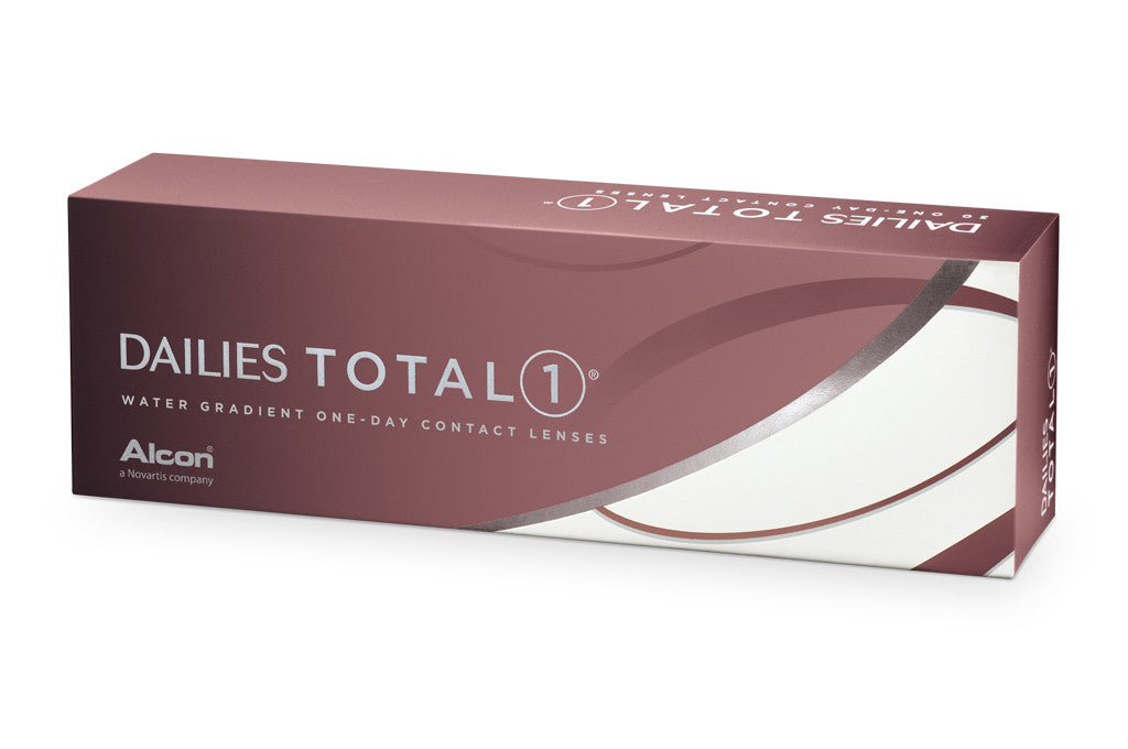 DAILIES TOTAL1 - 30 Pack Contact Lenses $51.99 Express Post