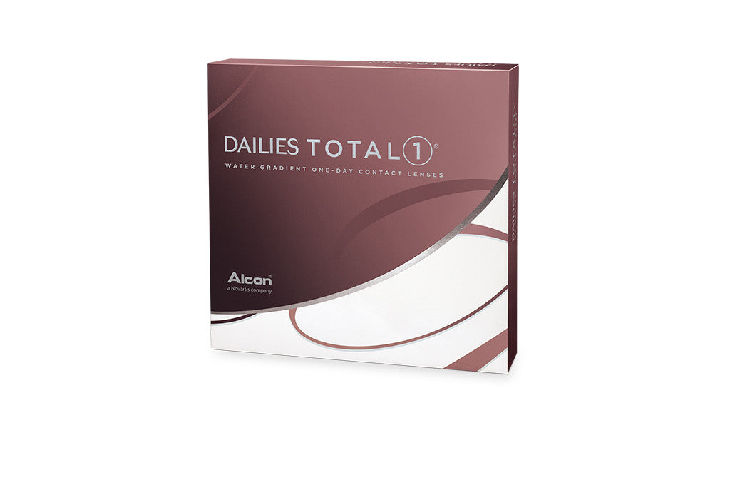 DAILIES TOTAL 1 - 90 Pack Contact Lenses $114.99 Express Post