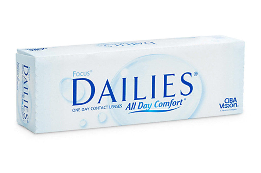 FOCUS DAILIES - 30 Pack Contact Lenses $32.99 Express Post