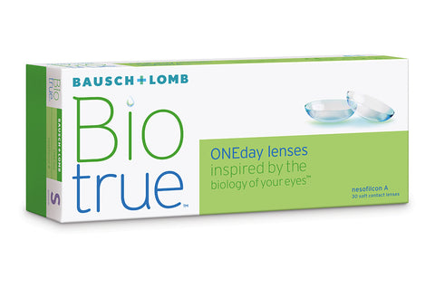 Biotrue ONEday - 30 Pack Contact Lenses $35.99 Express Post
