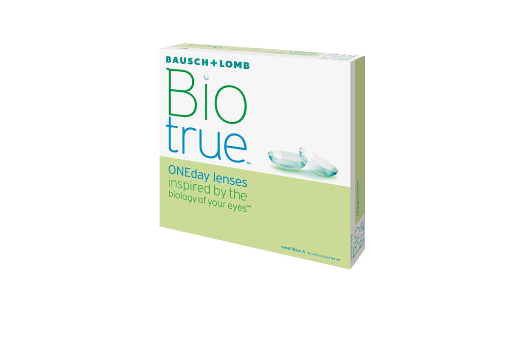 Biotrue ONEday - 90 Pack Contact Lenses $74.99 Express Post