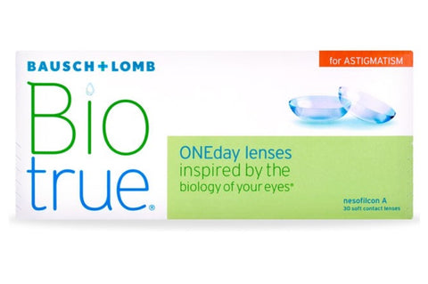 Biotrue ONEday for ASTIGMATISM - 30 Pack Contact Lenses $45.99 Express Post