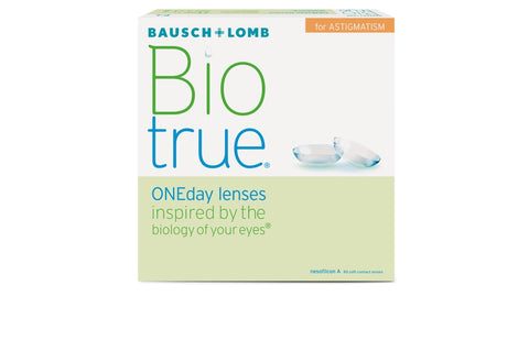 Biotrue ONEday for ASTIGMATISM - 90 Pack Contact Lenses $109.99 Express Post