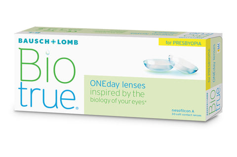 Biotrue ONEday for PRESBYOPIA - 30 Pack Contact Lenses $39.99 Express Post