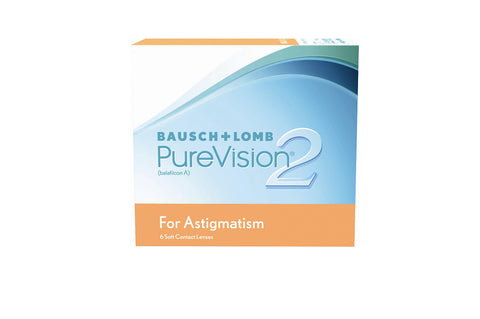 PureVision 2 for Astigmatism - 6 Pack Contact Lenses $89.99 Express Post