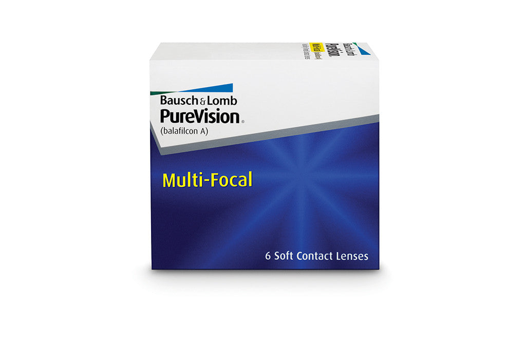 PureVision Multi-Focal - 6 Pack Contact Lenses $125.99 Express Post